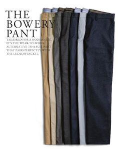 pant laydown