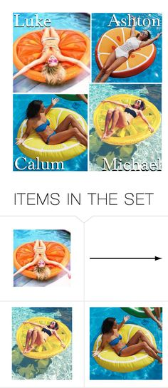 """""""Your Citrus Float!"""" by x5sosxpreferencesx ❤ liked on Polyvore featuring art"""