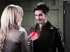 OUAT + the power of holding the heart of the one you love in your hands