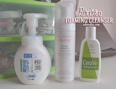 Battle of the Self-Foaming Cleansers! Three enter, one leaves victorious!