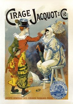 Cirage Jacquot CIE Vintage Circus Poster Reproduction Canvas Print 24x33 IN | eBay