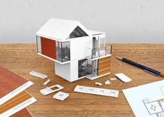 Arckit: An architectural model building kit for developing real modular building concepts