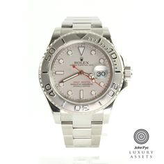 #Rolex Yatch-Master Gents Stainless Steel Automatic #Watch