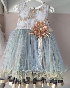 Платье для девочки от 4 до 8 лет +ободок в подарок GFL-15354B