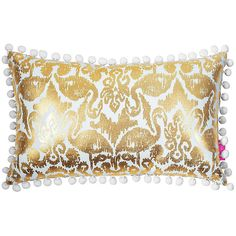 Lilly Pulitzer Lilly Pulitzer Medium Indoor/Outdoor Pillow ($36) ❤ liked on Polyvore featuring home, home decor, throw pillows, lilly pulitzer home decor, pom pom throw pillow, lilly pulitzer, indoor outdoor throw pillows and lilly pulitzer home accessories