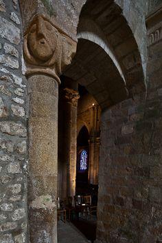 South transept entrance, Église Notre Dame de Joie, Merlévenez (Morbihan) Photo by PJ McKey