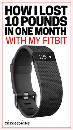 Fitbit Weight Loss: How I Lost 10 Pounds in One Month