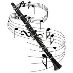 clarinet poster by nakedzealot