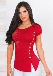 blusas para fiesta de damas ile ilgili görsel sonucu
