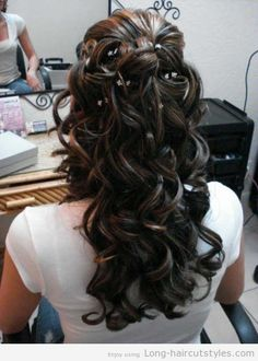 Upswept Hairstyles for Long Hair | Hairstyles for Long Hair 2013 ideas - Bridal Hairstyles for Long Hair ...