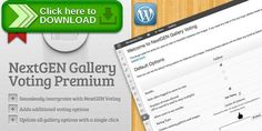 [ThemeForest]Free nulled download NextGEN Gallery Voting Premium from http://zippyfile.download/f.php?id=49832 Tags: ecommerce, like, nextgen gallery, nextgen gallery voting, rate, rating, vote, voting