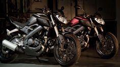 Yamaha MT125 Doubel Moto HD Wallpaper