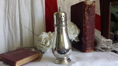 Antique Shaby Chic Silver Plated Sugar Sifter