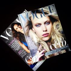 #Vogue magazine...looking 4 inspiration, trends, fashion, and beauty...