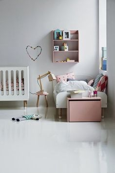 the boo and the boy: shared kids' rooms. A #CanDoBaby! fave.