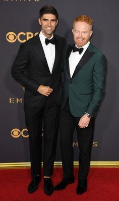 Justin Mikita and Jesse Tyler Ferguson - The Cutest Couples at the 2017 Emmy Awards - Photos