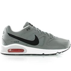 watch 03ed3 d02db nike AIR MAX COMMAND LEATHER TUMBLED GREY BLACK-LNR GRY-WHT