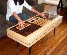 Functional Nintendo Controller Coffee Table