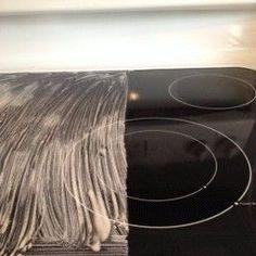 Как легко почистить варочную панель? — Полезные советы