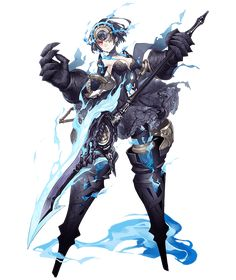 View an image titled 'Alice, Half-Nightmare Job Art' in our SINoALICE art gallery featuring official character designs, concept art, and promo pictures. Female Character Design, Character Design Inspiration, Fantasy Characters, Character Design, Anime Fantasy, Game Character Design, Fantasy Character Design, Art, Anime Characters