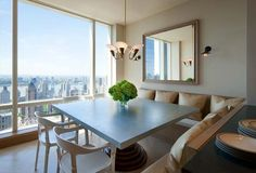 Soft Colored New York Apartment: Central Park Home