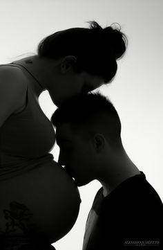 Pregnancy photos Foto premaman Alessio Nicoletto