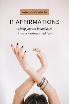 11 beautiful affirmations to support you in setting boundaries that serve you in your business and life. Affirmations For Women, Positive Affirmations, Positive Mindset, Positive Vibes, Self Development, Personal Development, Setting Boundaries, Nurses Day, Self Improvement Tips