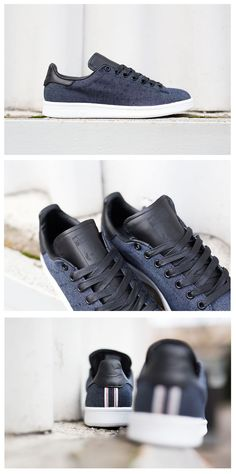adidas Originals Stan Smith: Indigo Denim/Black