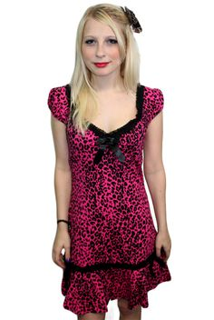 Leopard dress I would totally wear this if it was my size