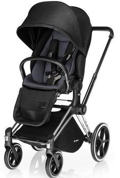 Cybex Priam Lux Trekking Stroller-Black Beauty