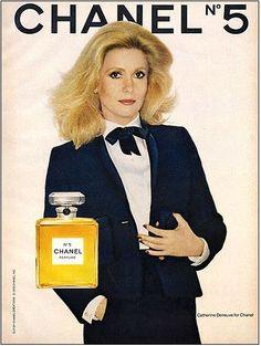 Catherine Deneuve Chanel ad
