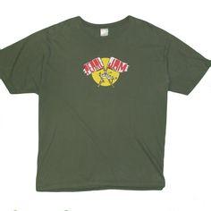 7b15e1984 Pearl Jam 2010 Men's T-Shirt XXL Retro Vintage Concert Tee Short Sleeve USA  Made