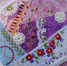 I ❤ crazy quilting & ribbon embroidery . . . CQJP 2012 Blog: ~By Carole A., United Kingdom