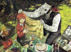 Elias Ainsworth and Chise Hatori. The Ancient Magus' Bride Mahou Tsukai no Yume Anime Manga, Anime Art, Elias Ainsworth, Chise Hatori, The Ancient Magus Bride, Best Waifu, Anime Life, I Love Anime, Anime Ships