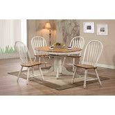 Found it at Wayfair - Rustic Oak Extendable Dining Table