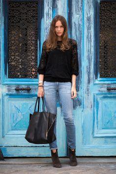 celine bags cabas lambskin black luxury on sale