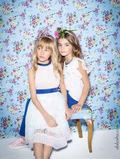 ALALOSHA: VOGUE ENFANTS: Miss Blumarine SS'16: recall the poetry of Provence