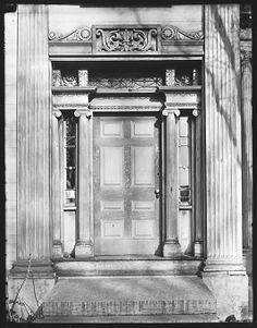 [Greek Revival Doorway, Cherry Valley, New York]