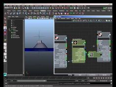 maya 3D matrix vector animation - YouTube