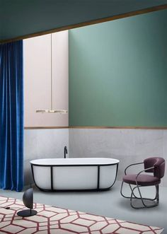 Agape, Lariana bathtub designed by Patricia Urquiola. Learn more on agapedesign #agapedesign #bathroom #interiordesign