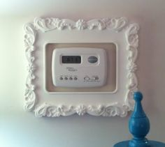dress up your thermostat  Living Room Thermostat