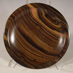 Macassar Ebony Wood Bowl Wooden Bowl number 6099 by NELSONWOOD on Etsy