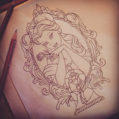 about Tattoos on Pinterest | Beauty and the beast Disney tattoos ...