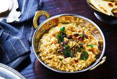 Indian food will soon become a staple in your house with this warm and cozy kitchari recipe.