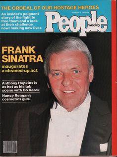 people weekly february 2 1981 frank sinatra nancy reagan vg 020916dbe from $14.99
