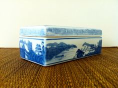 Blue Willow Box | Twin Interiors