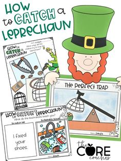 How to Catch a Leprechaun Interactive Read-Aloud Lesson Plans and Graphic Organizers
