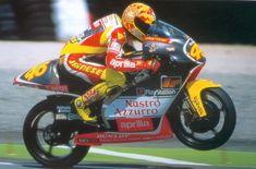 Valentino Rossi su Aprilia 250 1999