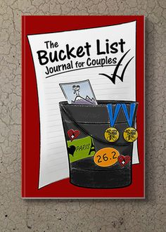 LoveCoups.com | The Bucket List Journal For Couples - Personalized Planner And Journal for Couples - $9.95