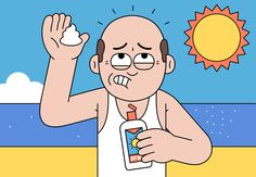 A Bald Man's Guide to Sunscreen: The GQ Eye: GQ on Style: GQ
